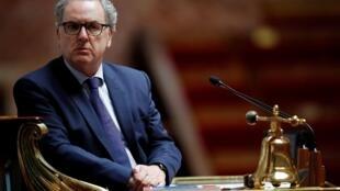 El presidente de la Asamblea Nacional francesa, Richard Ferrand, el 12 de mayo de 2020 en la cámara en París