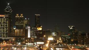 Atlanta, capitale de la Géorgie.