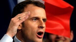 Emmanuel Macron é esperado em Besançon neste 11 de abril de 2017