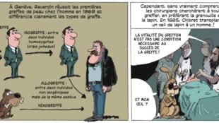 «L'Incroyable histoire de la médecine», de Jean-Noël Fabiani et Philippe Bercovici, aux Editions Les Arènes, p.167.
