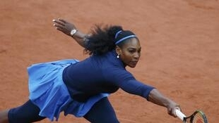 Serena Williams, Roland Garros le 1er juiin 2016.