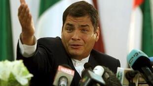 rais wa Ecuador Rafael correa