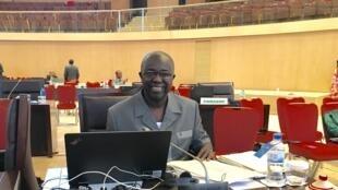 Soares Sambú, ministro dos Negócios Estrangeiros da Guiné-Bissau