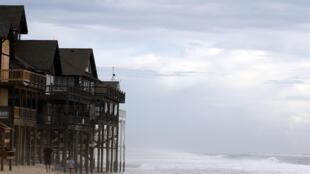 La côte Est des Etats-Unis se prépare à l'arrivée du cyclone Irène.