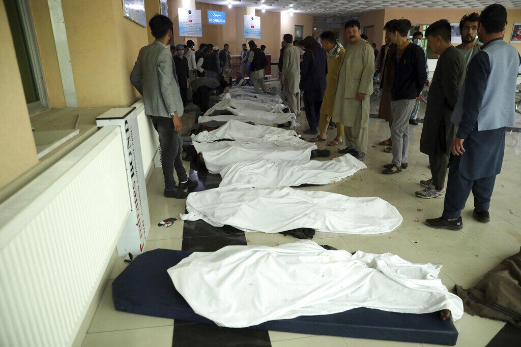 انفجار در مقابل  مدرسه دخترانه  غرب کابل  بیش از ۵۰ کشته داشته است