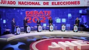 Candidats aux élections présidentielles au Pérou