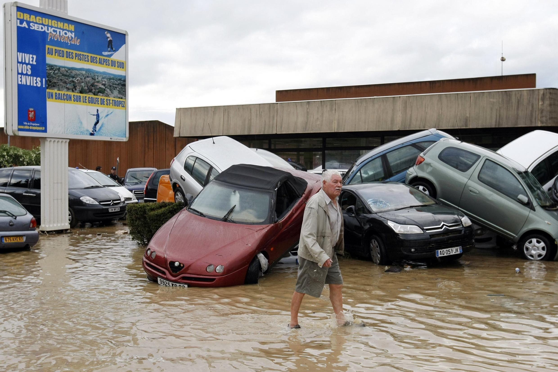 Las lluvias han colapsado varias ciudades del sur de Francia