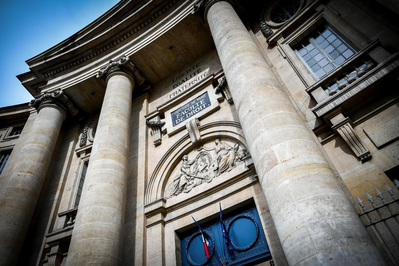 Universidad de la Sorbona en París, Facultad de derecho.