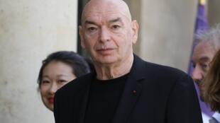 L'architecte Jean Nouvel au Palais de l'Élysée à Paris le 24 mai 2019.