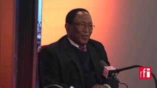 Augustin Nze Nfumu, candidat au poste de secrétaire général de l'OIF.