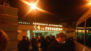 Aeroporto Internacional 4 de Fevereiro, Luanda.
