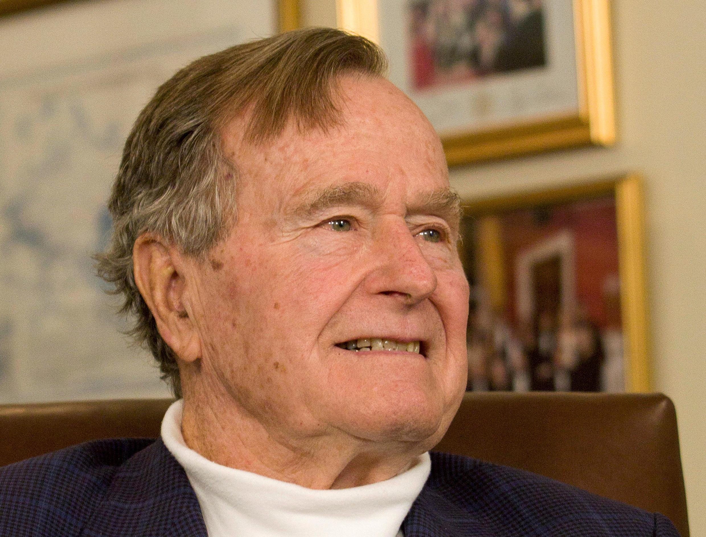 Tsohon shugaban Amurka na 41, George H.W. Bush wanda ya rasu a ranar Juma'a yana da shekaru 94.