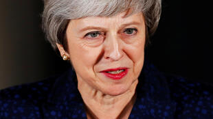 Theresa May después del voto de confianza, este 12 de diciembre de 2018 en Londres.