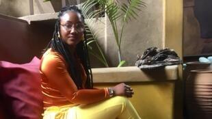 La militante féministe gambienne Toufah Jallow avait accusé l'anciene président Jammeh de viol.