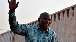 L'ancien Premier ministre centrafricain, Faustin Touadéra, le 28 décembre 2015 à Bangui.