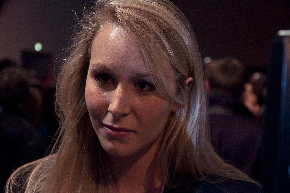 Marion Marechal-Le Pen mpwa wa aliyekuwa mgombea wa urais nchini Ufaransa Marine Le Pen.