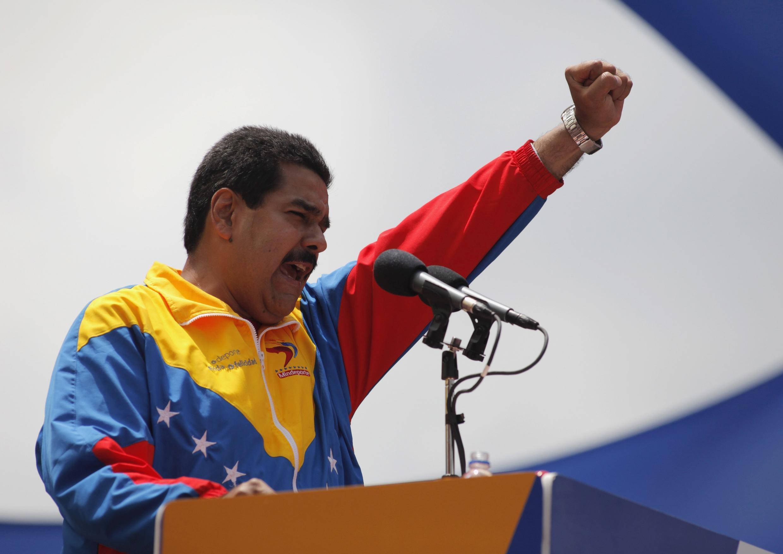 O presidente interino da Venezuela, Nicolás Maduro, que lançou neste domingo (17) uma conta na rede social Twitter.
