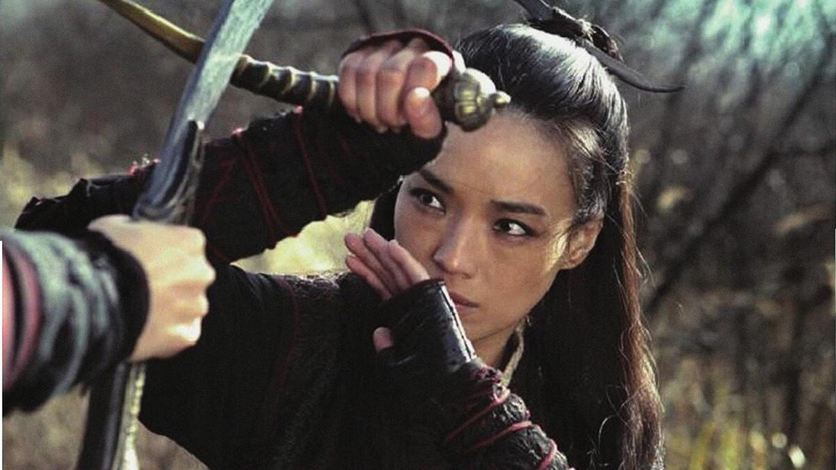 Shu Qi, in Hou Hsiao-hsien's, The Assasin, in competition at the Cannes Film Festival