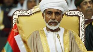 Le sultan Qabous ben Saïd.
