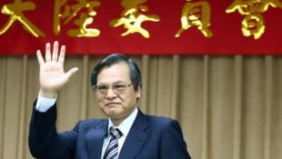 台湾陆委会主委陈明通资料图片