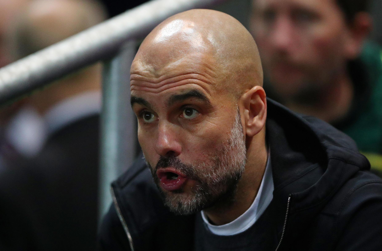 Mai horar da kungiyar Manchester City Pep Guardiola.