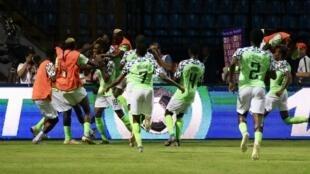 Nigéria apurou-se para os quartos-de-final.