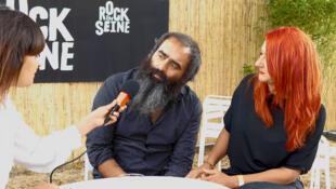 The Limiñanas, en entrevista con RFI.
