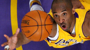 Kobe Bryant played with the LA Lakers for 20 seasons.