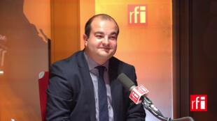 David Rachline, maire FN de Fréjus, directeur de la campagne présidentielle de Marine Le Pen.