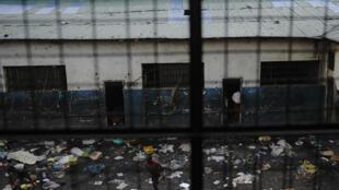 Vue de la prison de Goma, RDC.