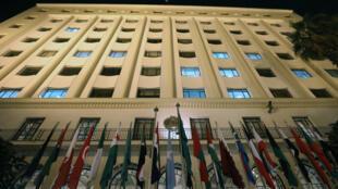 Réunie en conférence ministérielle extraordinaire, la Ligue arabe appelle la communauté internationale à reconnaître officiellement l'Etat palestinien avec Jérusalem-Est comme capitale, le 9 décembre 2017.