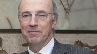 Bertrand de Crombrugghe, ici le 15 avril 2015, a été remercié de son poste d'ambassadeur de Belgique en RDC.