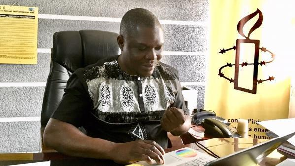 Fidèle Kikan, responsable d'Amnesty International au Bénin, a donne l'alerte fin 2016 sur les crimes rituels liés aux cybercriminels.