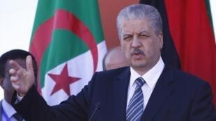O primeiro-ministro da Argélia, Abdelmalek Sellal, em imagem do dia 12 de janeiro de 2013.