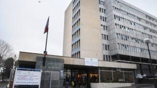 L'hôpital de la Pitié-Salpêtrière à Paris.