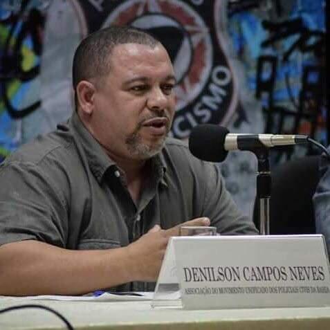 Denilson Campos Neves é policial civil na Bahia.