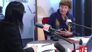 A atriz e diretora Gabriella Scheer
