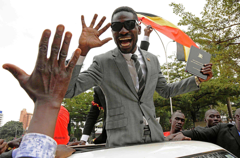 Dan Majalisar kasar Uganda  Bobi Wine