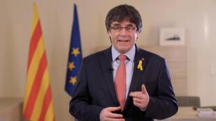 El expresidente catalán Carles Puigdemont.