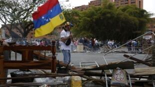 Há duas semanas os protestos antigoverno nas ruas de Caracas são quase cotidianos.