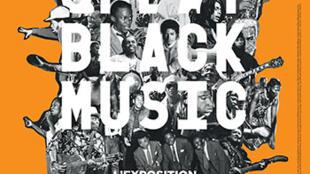 Affiche de l'exposition, Great Black Music.