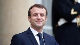 Emmanuel Macron, le 19 décembre 2019.