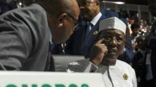 Shugaban kasar Chadi Idriss Deby.