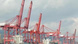 Cảng biển Liên Vân Cảng, tỉnh Giang Tô, Trung Quốc.