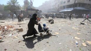 Miliyoyan mutanen Syria ne suka fice kasar
