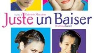 Affiche du film « Juste un baiser ». (Capture d'écran).