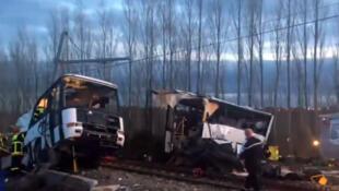 Accident de Millas. Le bilan s'alourdit à cinq enfants décédés, selon le communiqué public de la préfecture des Pyrénées-Orientales, vendredi 15.12.2017