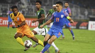 Sunil Chhetri has now scored 74 goals for India