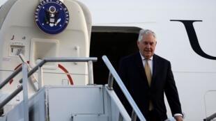 美國國務卿蒂勒森2018年3月7日前往非洲訪問
