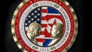 در آستانۀ ملاقات تاریخی دونالد ترامپ، رئیس جمهوری آمریکا، و، کیم جونگ اون، رهبر کره شمالی در سنگاپور،